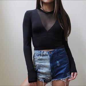 H&M Black Long Sleeve